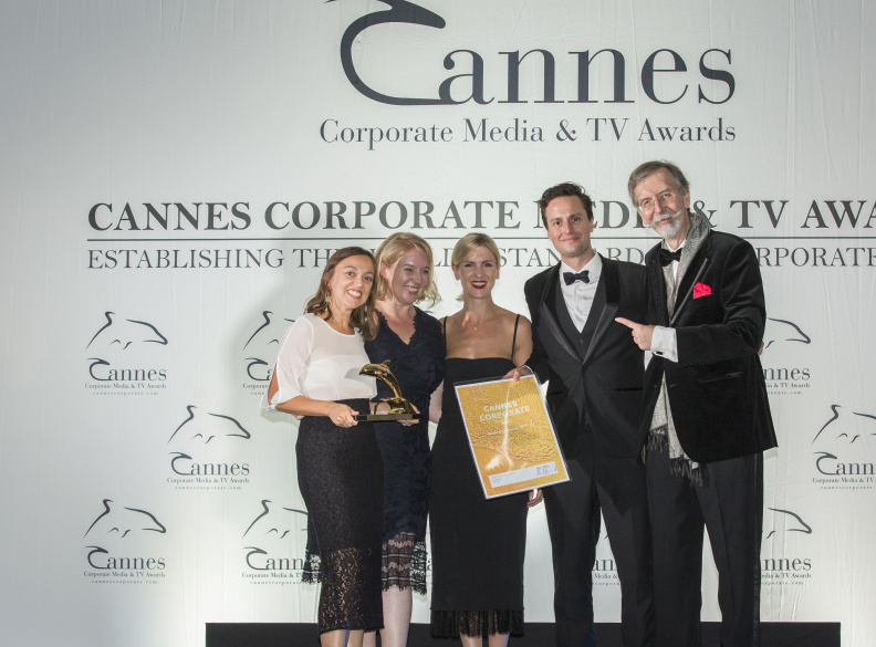 Cannes Dolphins RB Are You Listening Award Win