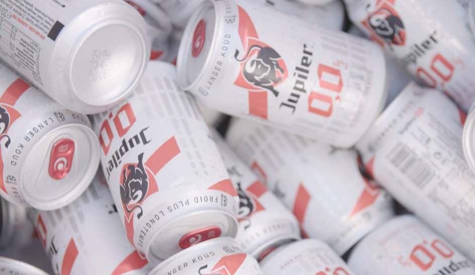 AbInBev beer cans