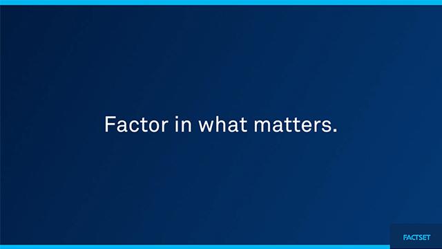 FactSet Data