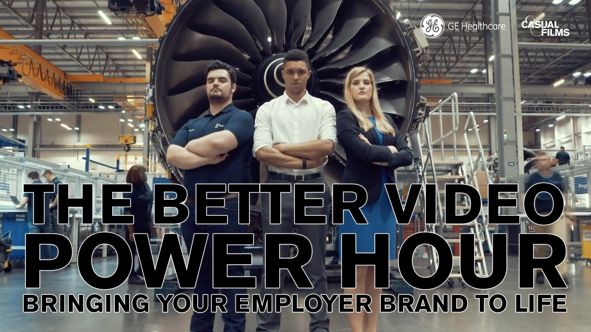 GE Healthcare Employer Brand to Life 3 shot