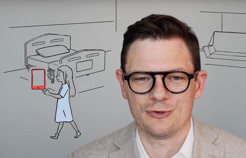 How to animate iPad