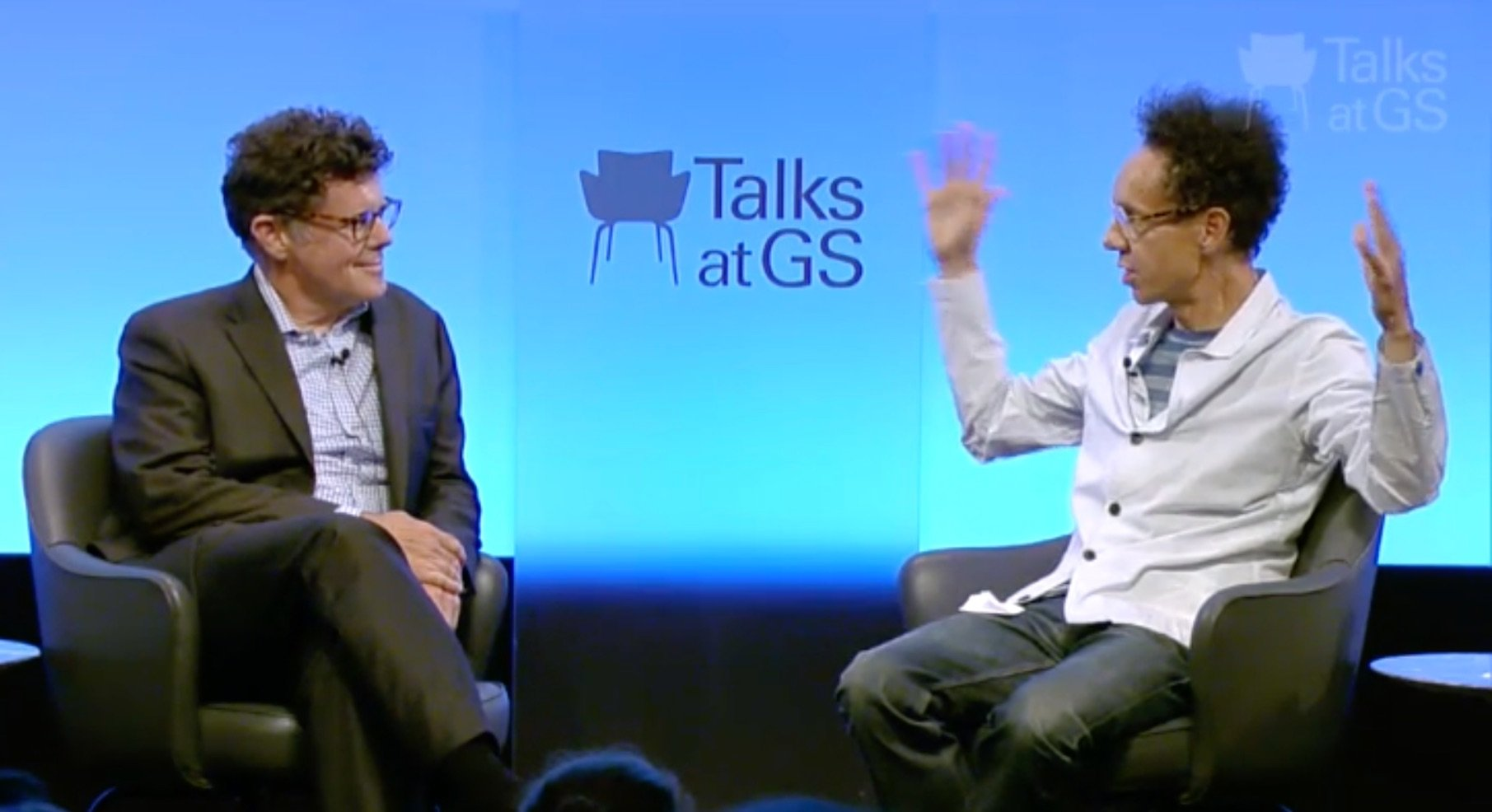 Talks at GS Malcolm Gladwell