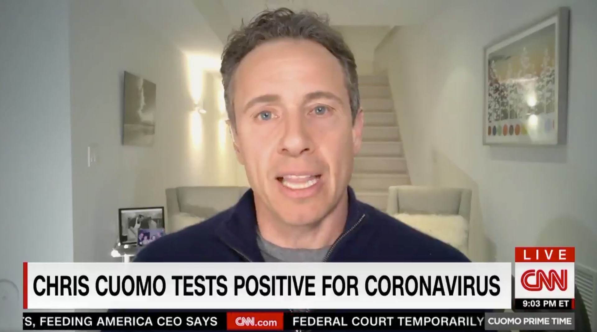 Chris Cuomo on CNN