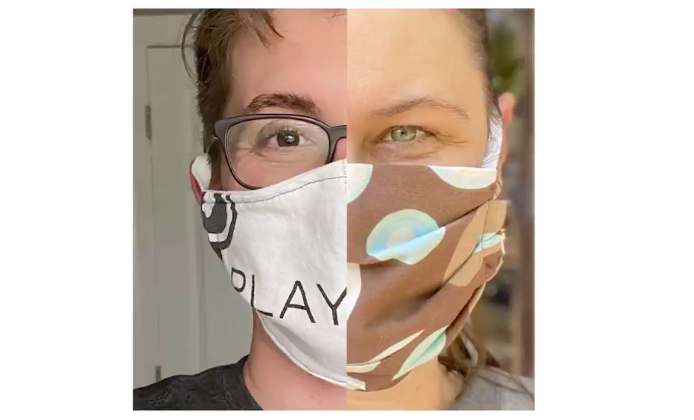 Production face masks